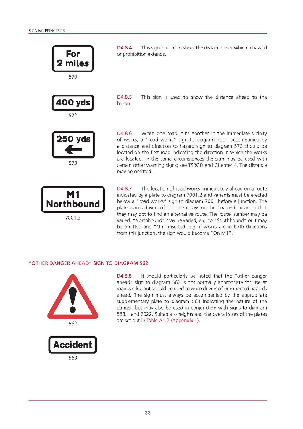 traffic signs manual chapter 8 part 1 design