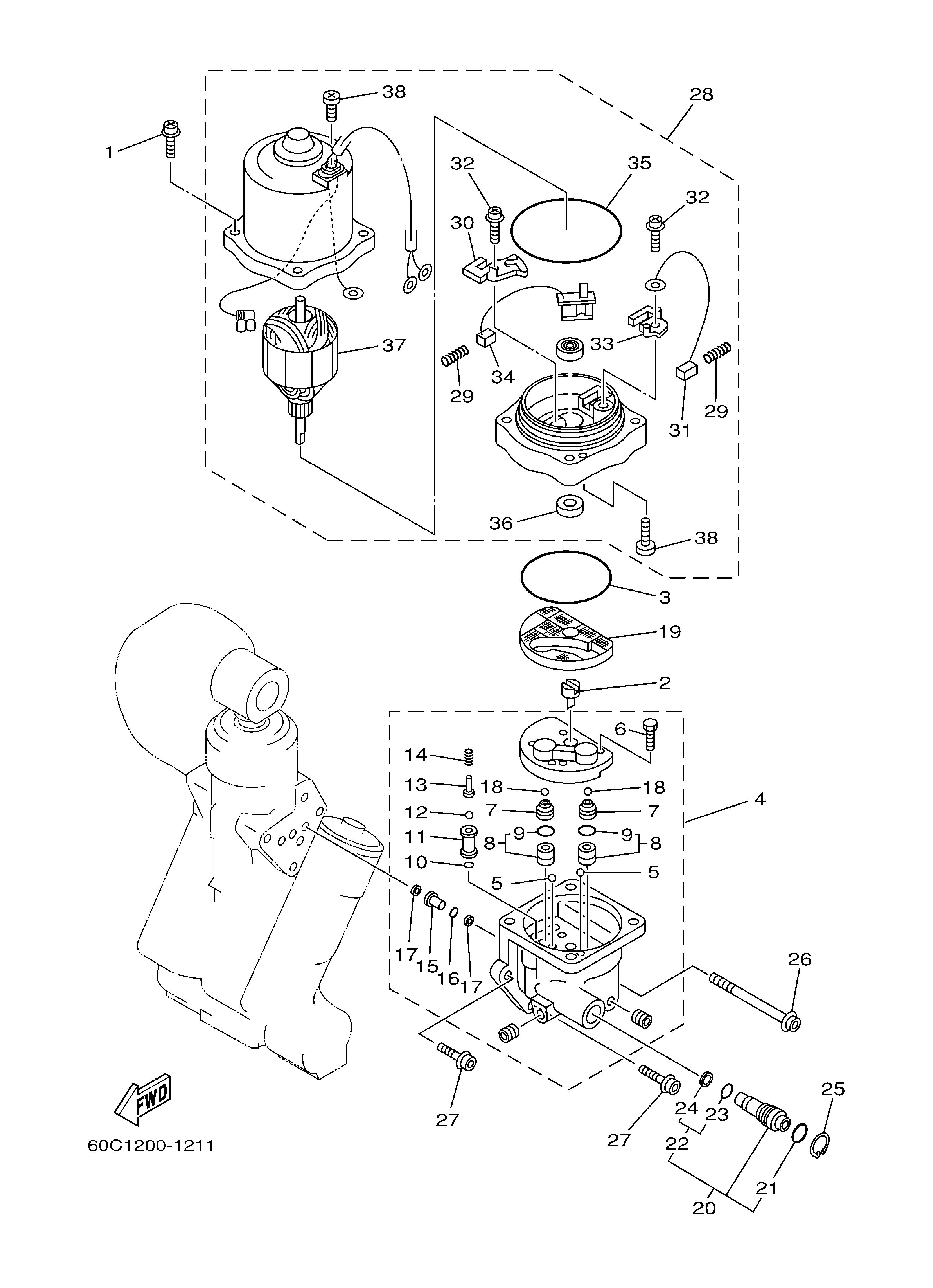 yamaha 150 outboard parts manual